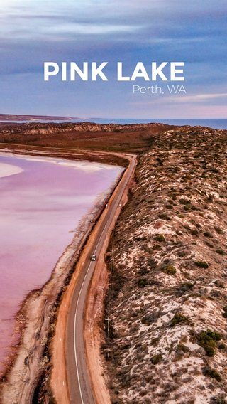 PINK LAKE Perth, WA