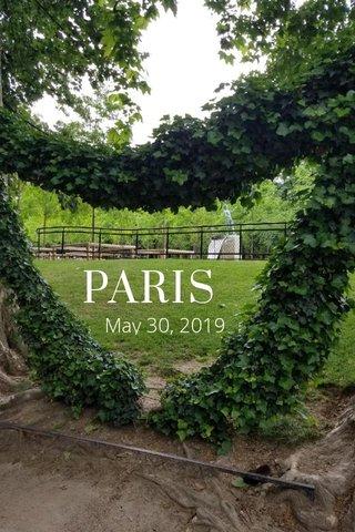 PARIS May 30, 2019