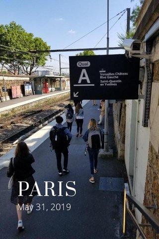 PARIS May 31, 2019