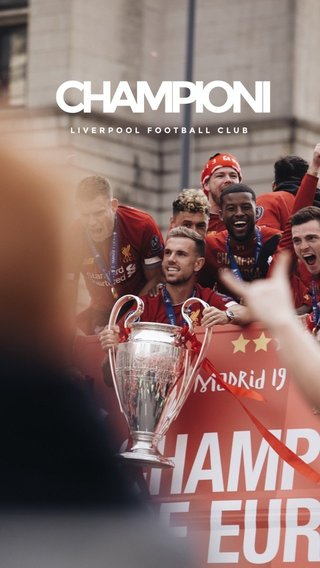 CHAMPIONI LIVERPOOL FOOTBALL CLUB