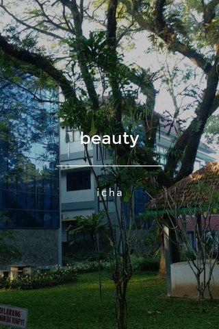 beauty icha
