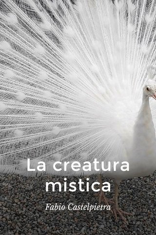 La creatura mistica Fabio Castelpietra