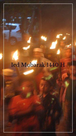 Ied Mubarak 1440 H