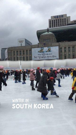 South Korea Winter in