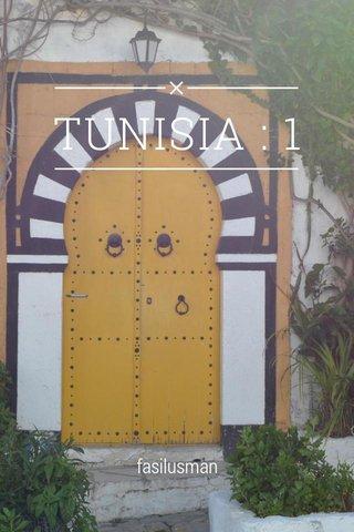 TUNISIA : 1 fasilusman