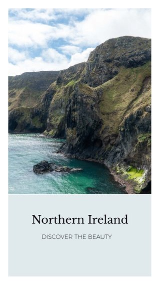 Northern Ireland DISCOVER THE BEAUTY