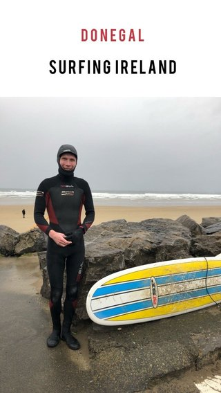 Surfing Ireland Donegal