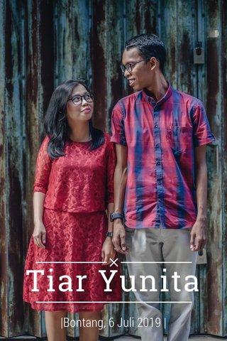 Tiar Yunita  Bontang, 6 Juli 2019  