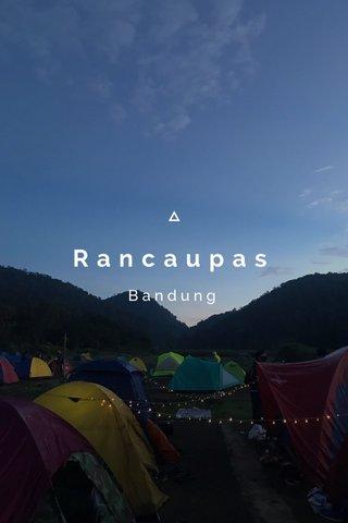 Rancaupas Bandung