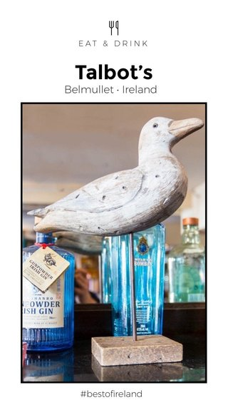 Talbot's Belmullet • Ireland #bestofireland EAT & DRINK