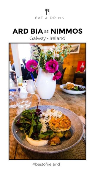 ARD BIA NIMMOS Galway • Ireland at #bestofireland EAT & DRINK