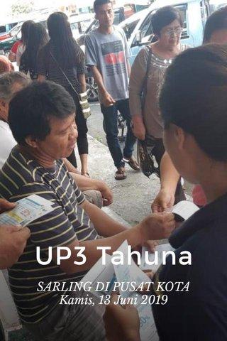 UP3 Tahuna SARLING DI PUSAT KOTA Kamis, 13 Juni 2019