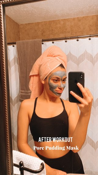 After Workout Pore Pudding Mask