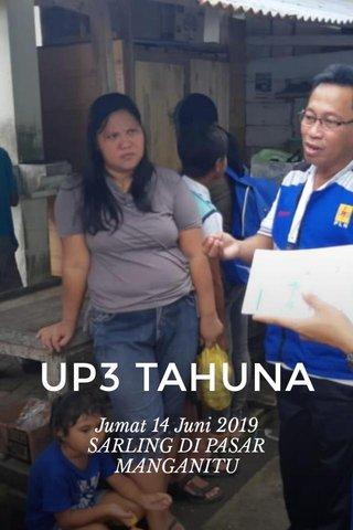 UP3 TAHUNA Jumat 14 Juni 2019 SARLING DI PASAR MANGANITU