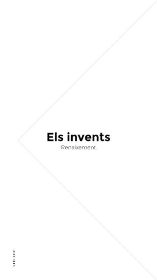 Els invents Renaixement