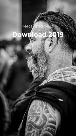 Download 2019 Metal and Mud