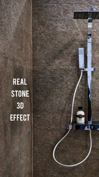 Real stone 3D effect