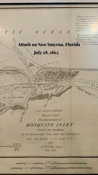 Attack on New Smyrna, Florida July 28, 1863