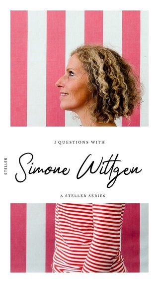 Simone Wittgen 5 QUESTIONS WITH A STELLER SERIES