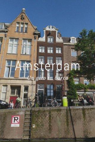 Amsterdam Un giro in barca