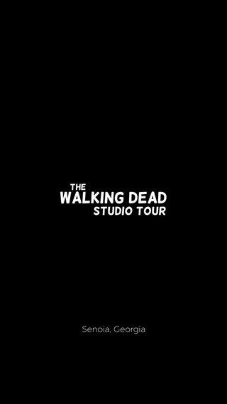 Walking Dead Studio Tour The Senoia, Georgia