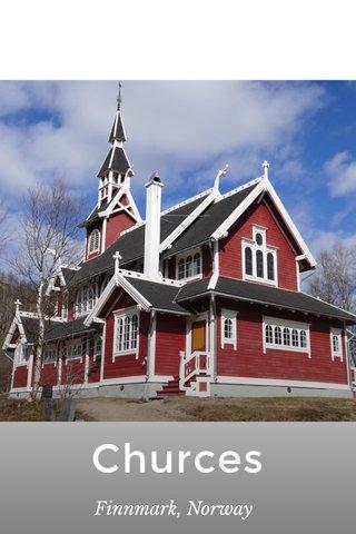 Churces Finnmark, Norway