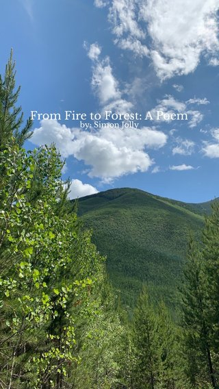 From Fire to Forest: A Poem by: Simon Jolly