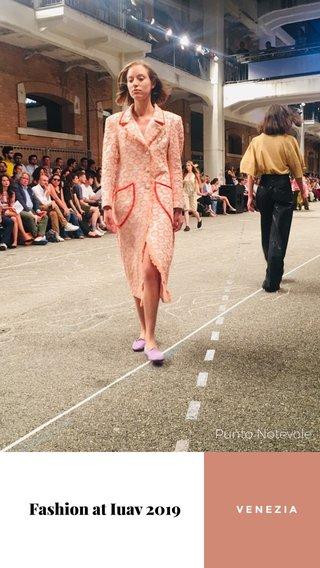 Fashion at Iuav 2019 Punto Notevole VENEZIA