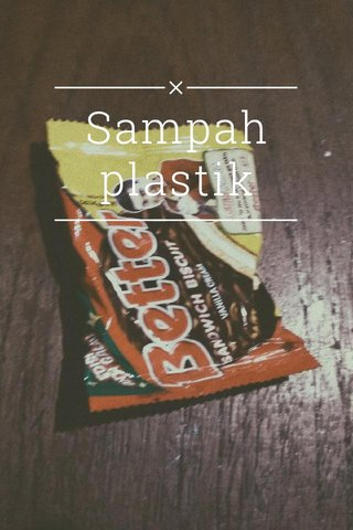 Sampah plastik