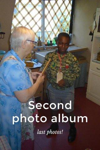 Second photo album last photos!
