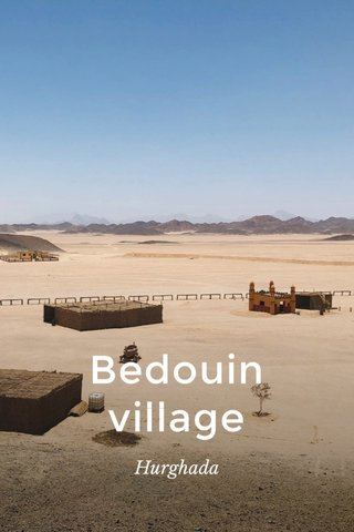 Bedouin village Hurghada