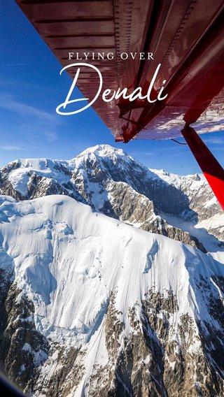 Denali FLYING OVER