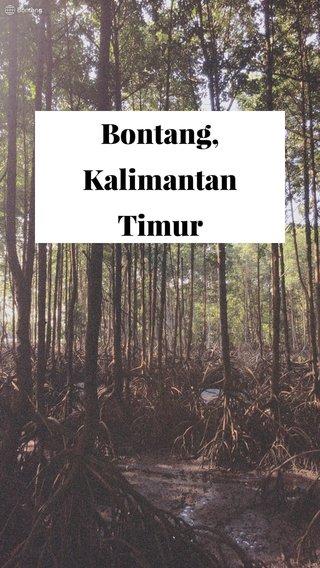 Bontang, Kalimantan Timur