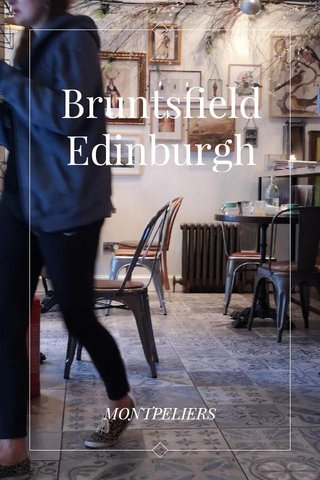 Bruntsfield Edinburgh MONTPELIERS