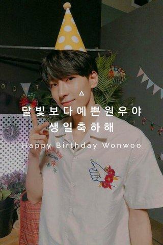 달빛보다예쁜원우야생일축하해 Happy Birthday Wonwoo
