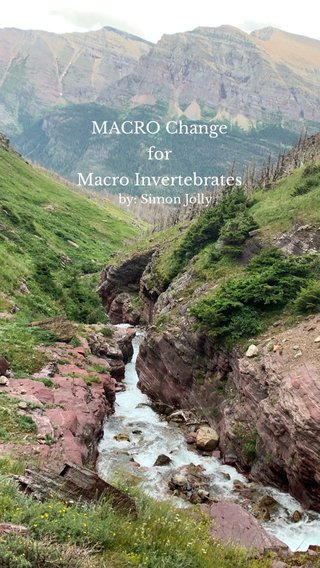 MACRO Change for Macro Invertebrates by: Simon Jolly