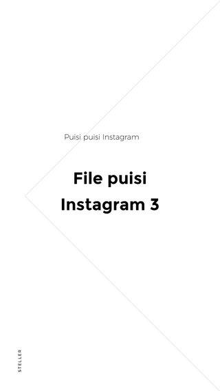 File puisi Instagram 3 Puisi puisi Instagram