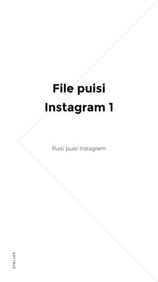 File puisi Instagram 1 Puisi puisi Instagram