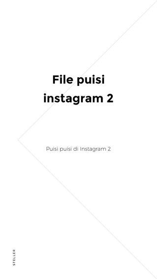 File puisi instagram 2 Puisi puisi di Instagram 2
