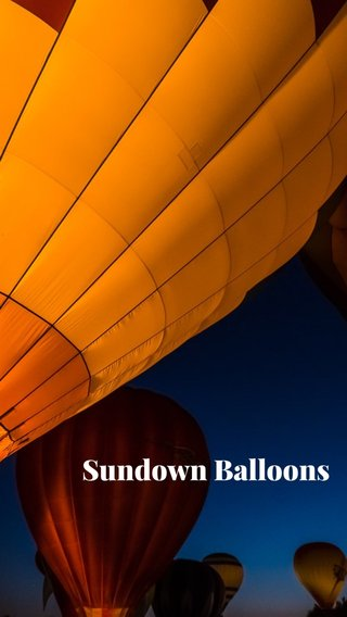 Sundown Balloons