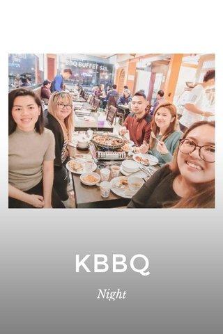 KBBQ Night