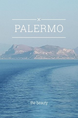 PALERMO the beauty