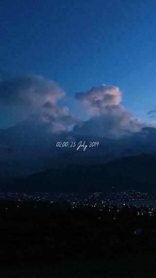 02.00, 23 July 2019