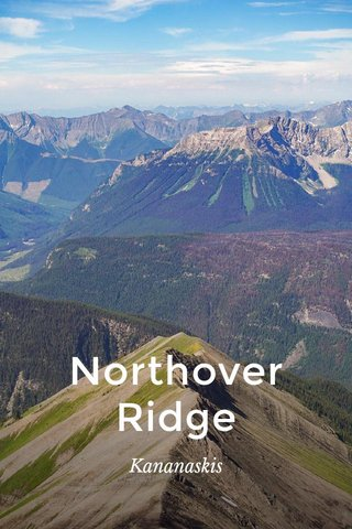 Northover Ridge Kananaskis
