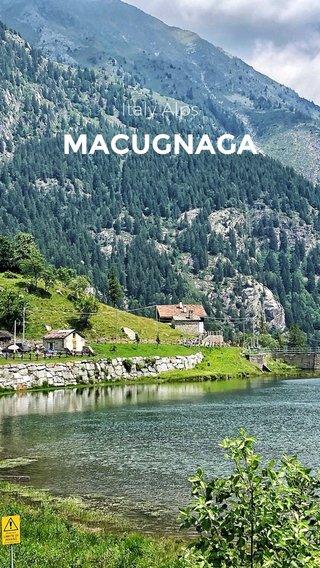 MACUGNAGA Italy Alps