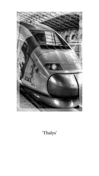 'Thalys'
