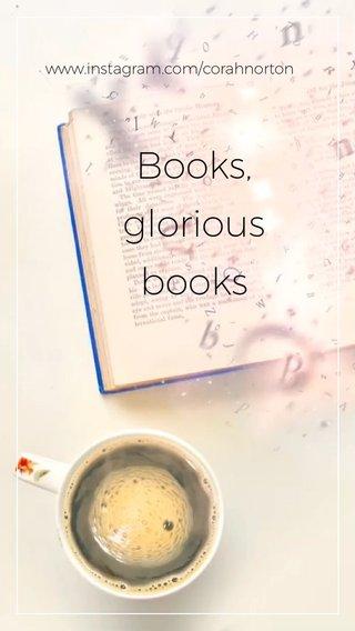 Books, glorious books www.instagram.com/corahnorton