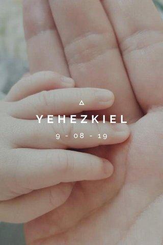 YEHEZKIEL 9 - 08 - 19