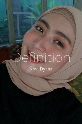 Definition Novi Dyana