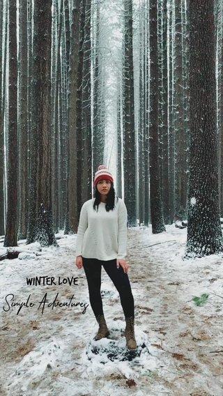 Winter Love Simple Adventures